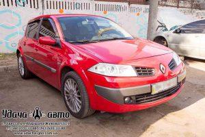 установка гбо на Renault Megane 2006 1.6