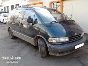 установка гбо на Toyota Previa 1992 2.5