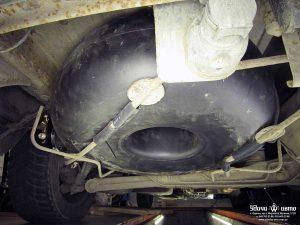 баллон гбо на Toyota Previa 1992 2.5
