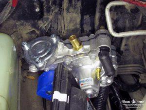 редуктор гбо Tomasetto на Toyota Previa 1992 2.5