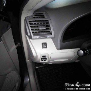 кнопка переключения гбо на Toyota Camry