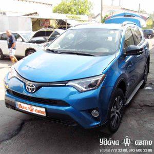 установка гбо на Toyota RAV4 2016 2.5 в Одессе