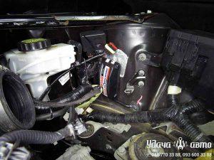 электроника гбо на Nissan Altima
