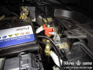 электроклапан гбо на Nissan Altima