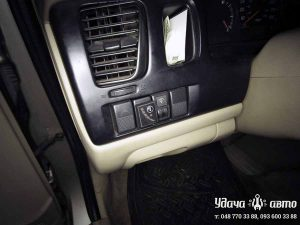 кнопка гбо на Mazda MPV