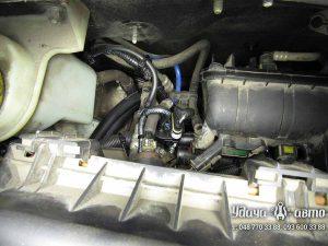 мап-сенсор гбо на Peugeot Bipper