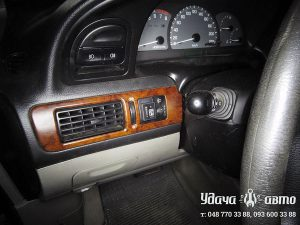 кнопка гбо на Chevrolet Tacuma
