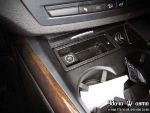 кнопка гбо на BMW X5 2008 4,8