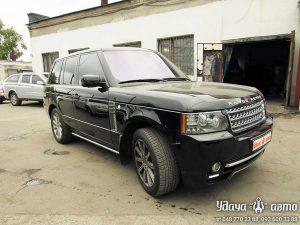 установка гбо на Range Rover